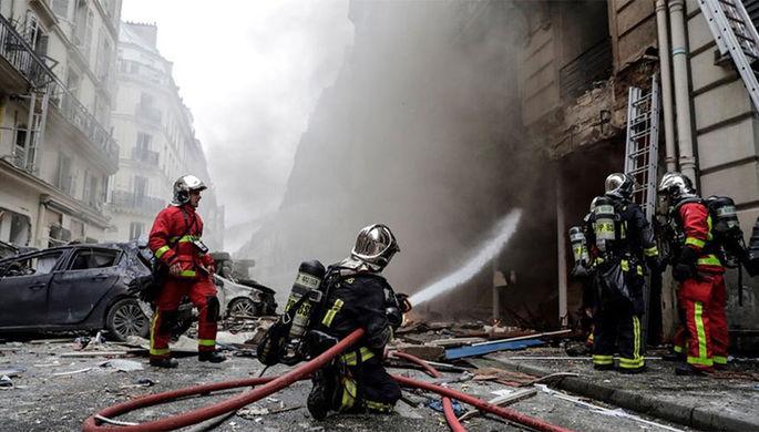 В Лионе произошли взрыв и пожар, есть жертвы