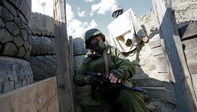 Украинские солдаты погибли в Донбассе