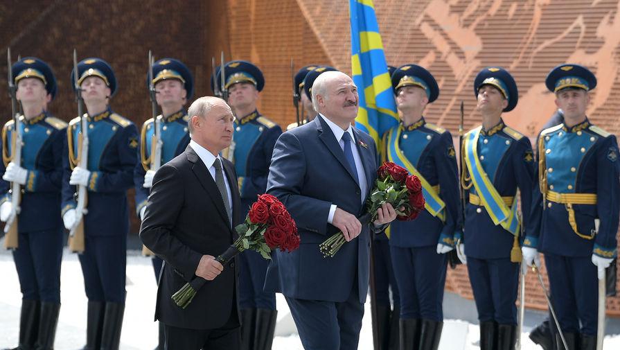 Путин и Лукашенко обсудили отношения Москвы и Минска