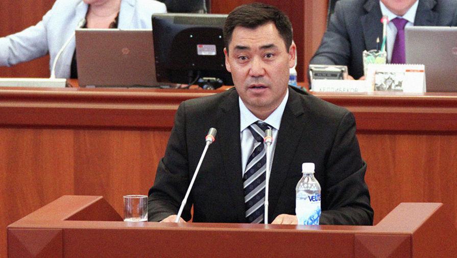Жапаров поблагодарил Россию за помощь Киргизии