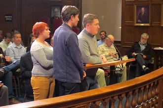 Делегация ЛГБТ-активистов из Архангельска в мэрии американского Портленда