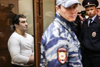Орхан Зейналов во время заседания Мосгорсуда