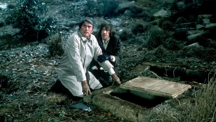 Кадр из фильма «Омен» (1976)