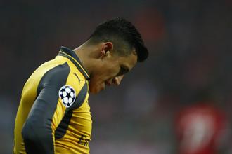 Нападающий «Арсенала» Алексис Санчес