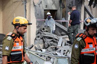 Последствия ракетного удара по Израилю, 25 марта 2019 года