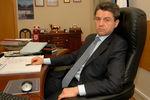 Владимир Маркин всвоем рабочем кабинете