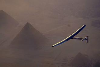 Полет над пирамидами в Египте