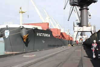 Судно Victoria США Одесса уголь