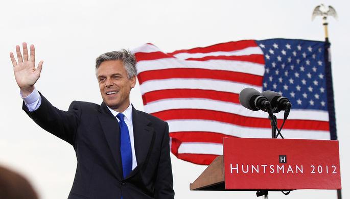 Хантсман — единственный в новейшей истории США посол в России, который был кандидатом в...
