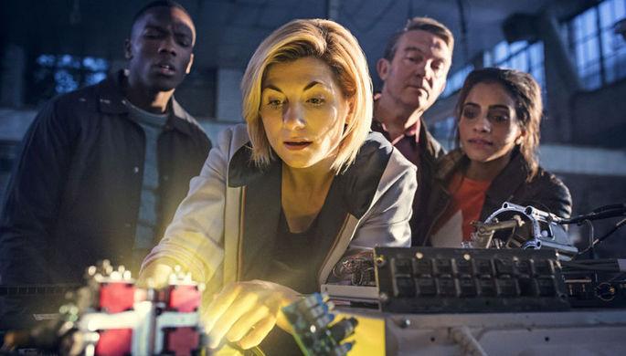 Кадр из сериала «Доктор Кто» (2018)