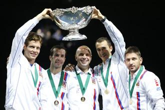 Сборная Чехии- двукратный обладатель кубка Дэвиса