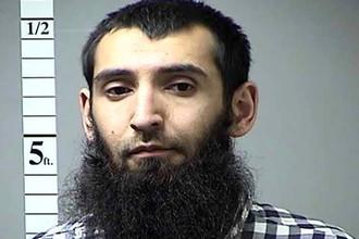 Подозреваемый в совершении теракта в Манхеттене Сайфулло Саипов