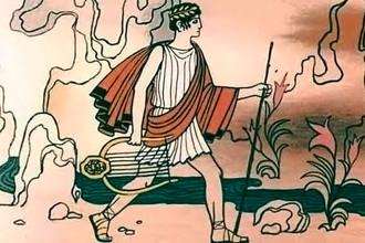 Орфей дошел до берега Стикса