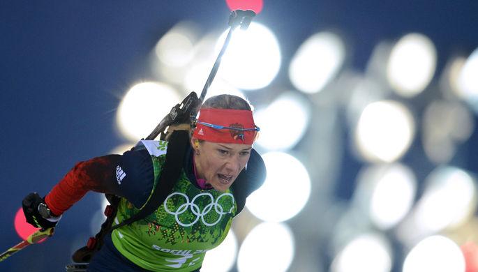 Российская биатлонистка Ольга Зайцева, Олимпиада-2014