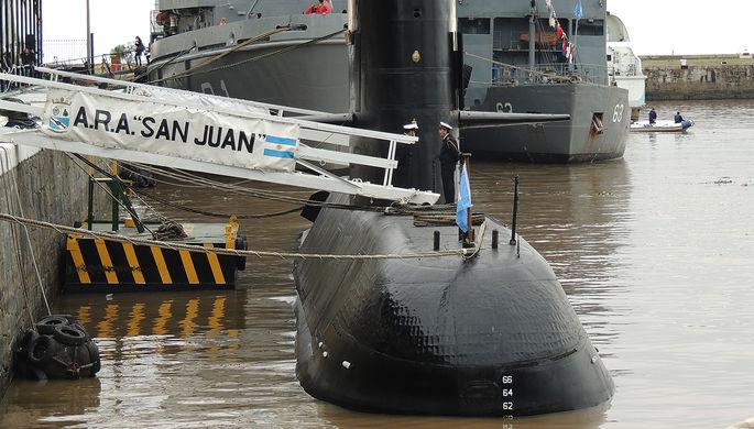Минобороны Аргентины зафиксировало сигналы с пропавшей подлодки