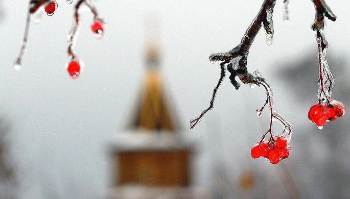 Ледяной дождь и снег: что ожидает Москву