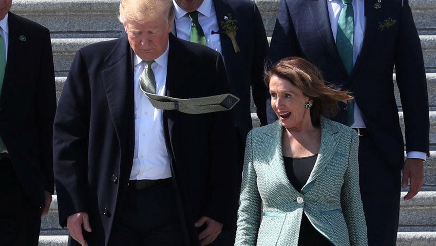 Демократы согласовали дату голосования по импичменту Трампа