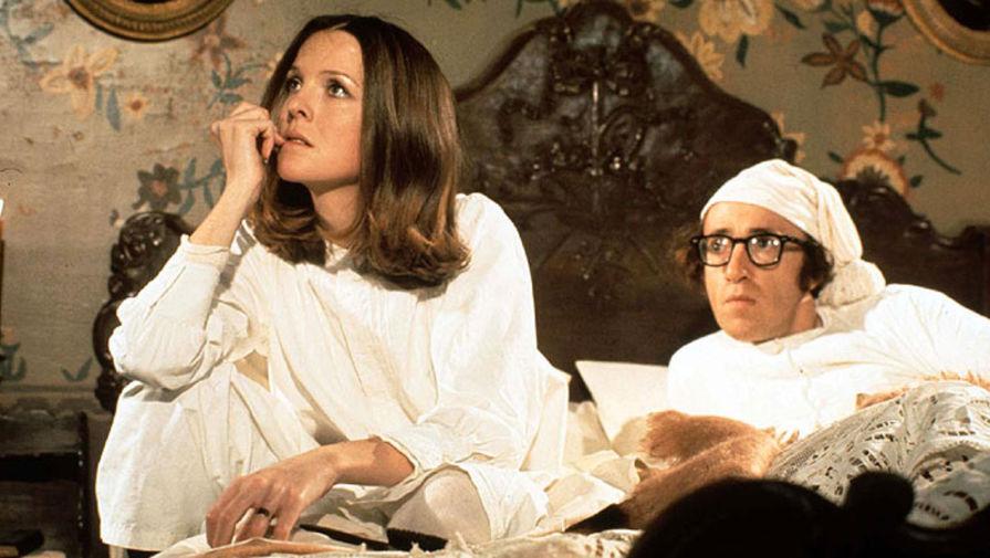 Вуди Аллен и Дайан Китон в фильме «Любовь и смерть» (1975)