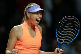 Эмоции Марии Шараповой от первой победы после дисквалификации