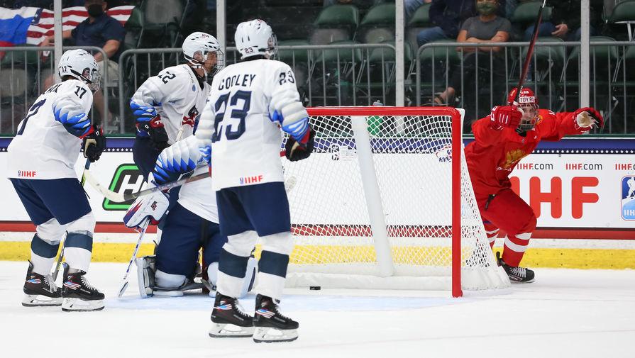 Юниорская сборная России уступила по буллитам Финляндии