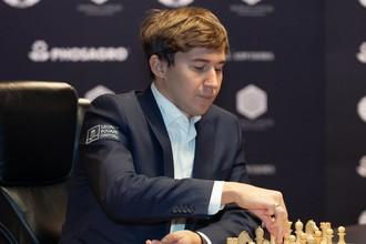 Сергей Карякин лидирует в чемпионате мира по блицу после первых 12-и туров