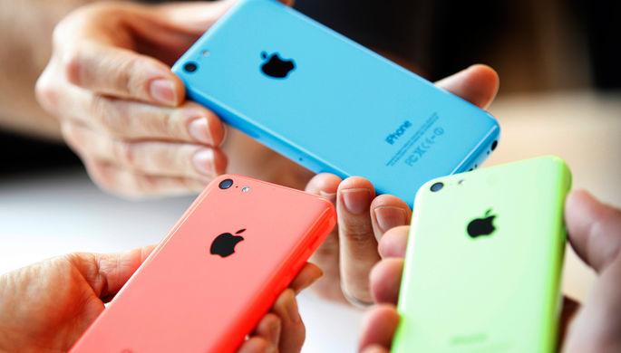 iPhone 5C (2013 год)