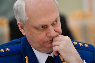 Заместитель генерального прокурора РФ — главный военный прокурор Сергей Фридинский, март 2017 года