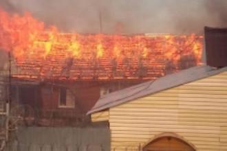Пожар в исправительной колонии №8 в Свердловской области