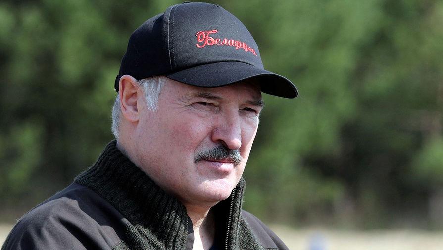 Александр Лукашенко во время республиканского субботника на территории Национального парка «Припятский» в Чернобыльской зоне, 25 апреля 2020 года