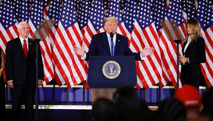 «Остановите подсчет»: выборы президента США продолжатся в суде