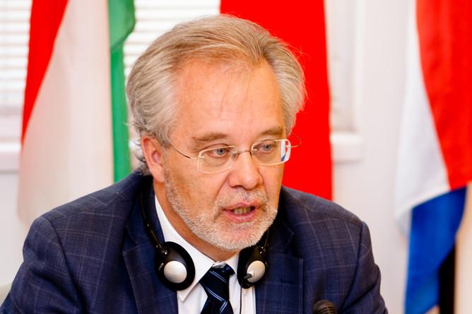 Генеральный секретарь ERC Дональд Дингвелл