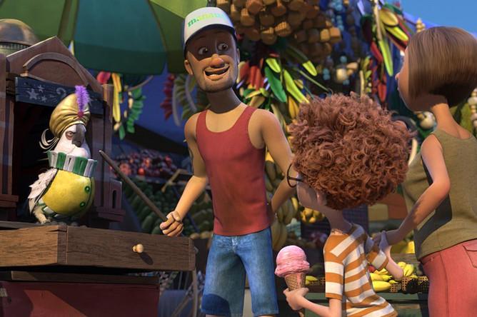 Кадр из мультфильма «Рио-2»