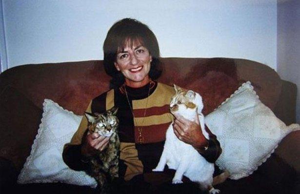 Поппи с хозяйкой и другим питомцем, 1997 год
