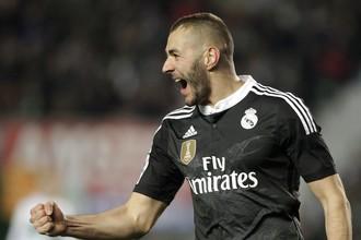 Гол Карима Бензема принес «Реалу» победу над «Эльче»