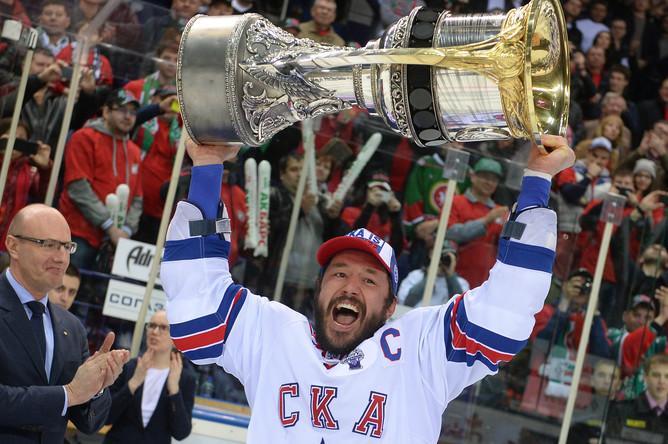СКА впервые в истории стал обладателем Кубка Гагарина
