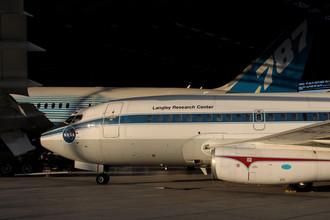 Первый летающий образец Boeing-737, сейчас в музее Сиэтла