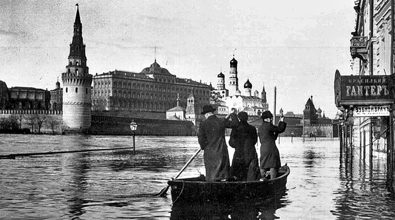 Она утонула: 110 лет с Великого Московского наводнения - Газета.Ru | Фото