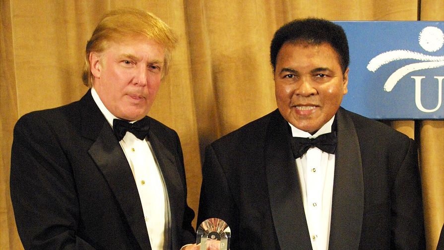Трамп заявил о намерении посмертно помиловать Мохаммеда Али