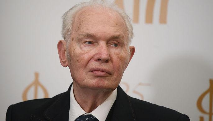 председатель Союза писателей России Валерий Ганичев, 2017 год