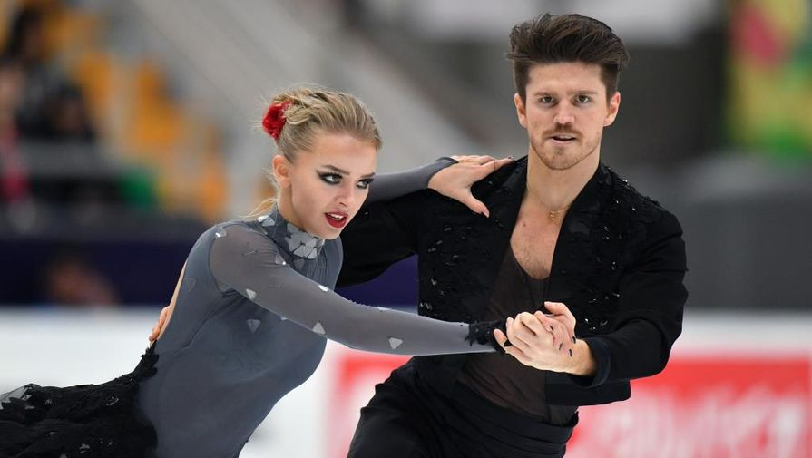 Синицина и Кацалапов идут третьими после ритм-танца в финале Гран-при