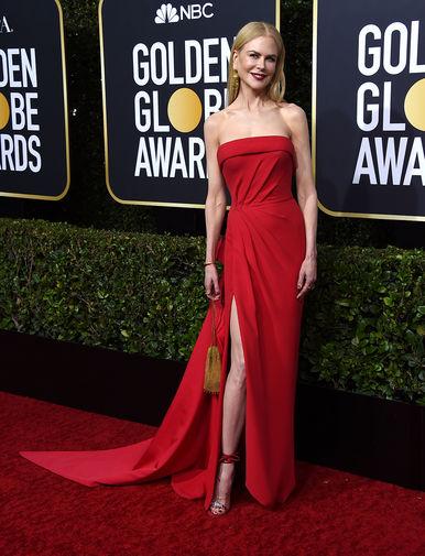 Николь Кидман на 77-й церемонии вручения американской кинопремии «Золотой глобус» в Лос-Анджелесе, 6 января 2020 года