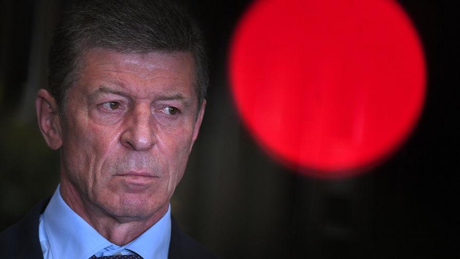 Козак назвал позицию Украины причиной конфликта в Донбассе