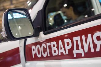 Павильон автомобильной компании УАЗ на Международной выставке средств обеспечения безопасности государства «Интерполитех- 2016» в Москве
