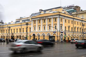 Историческое здание Государственного академического Малого театра России после реставрации