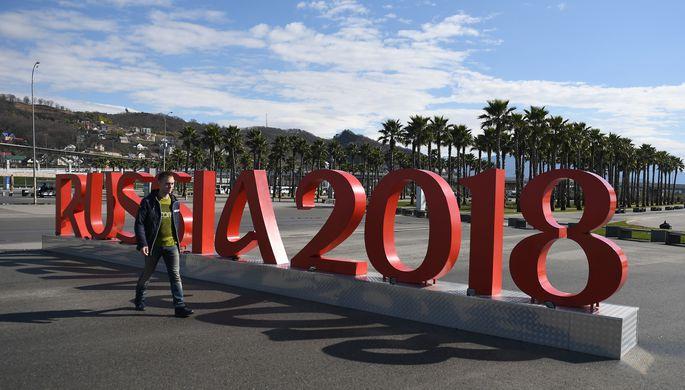 Символ чемпионата мира по футболу 2018 года в Сочи