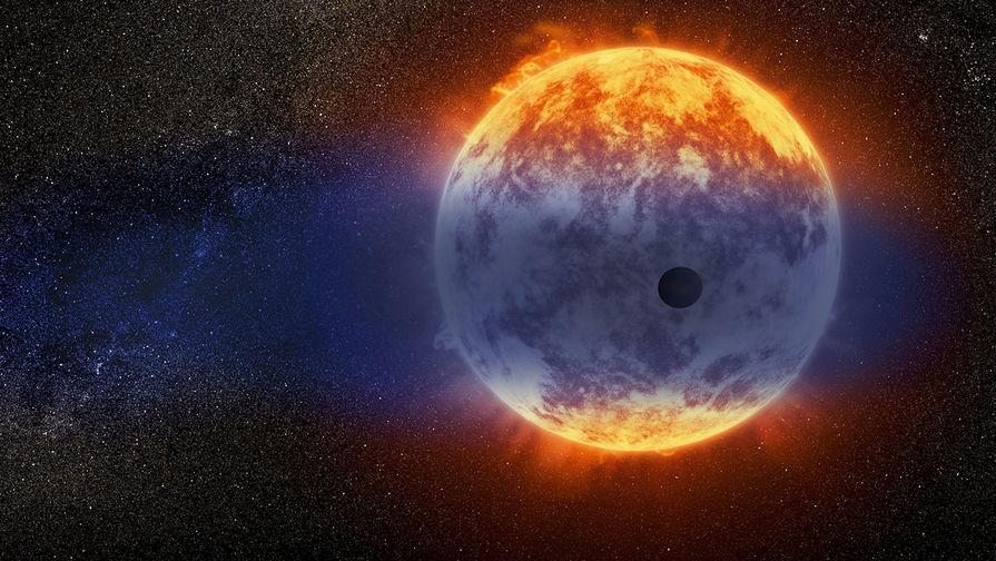 Астрономы нашли планету, испаряющуюся на глазах
