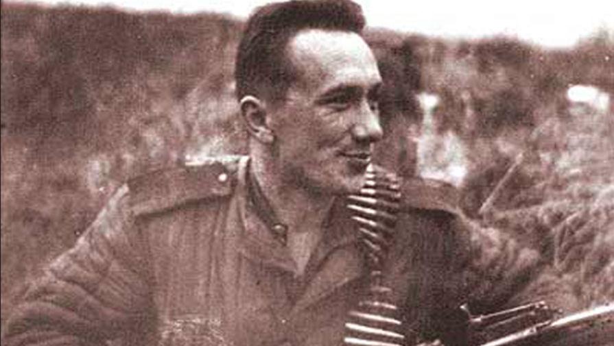 Алексей Смирнов на фронте, 1940-е