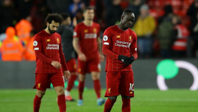 Игроки «Ливерпуля» Мохамед Салах и Садио Мане