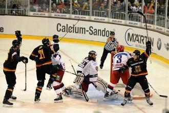 Российские хоккеисты взяли реванш за поражение во Фрайбурге