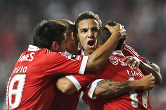 «Бенфика» разгромила соперника в Кубке Португалии